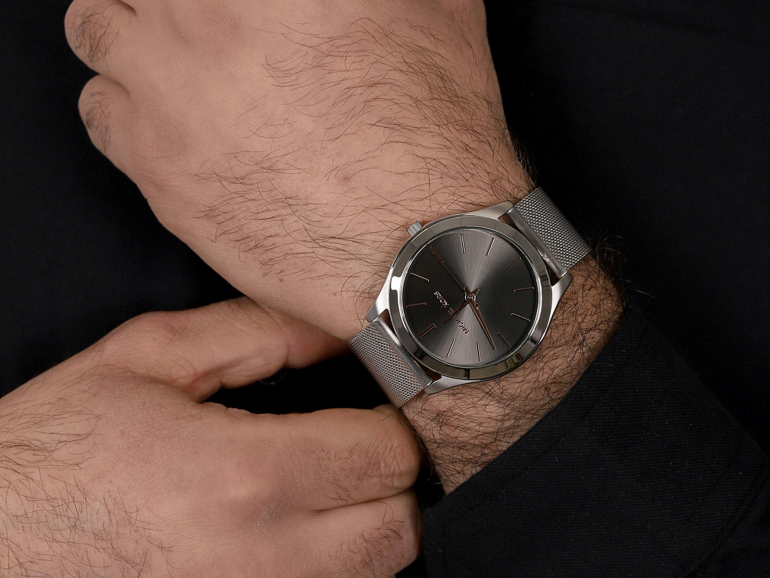 Michael Kors MK8656 męski zegarek Runway bransoleta