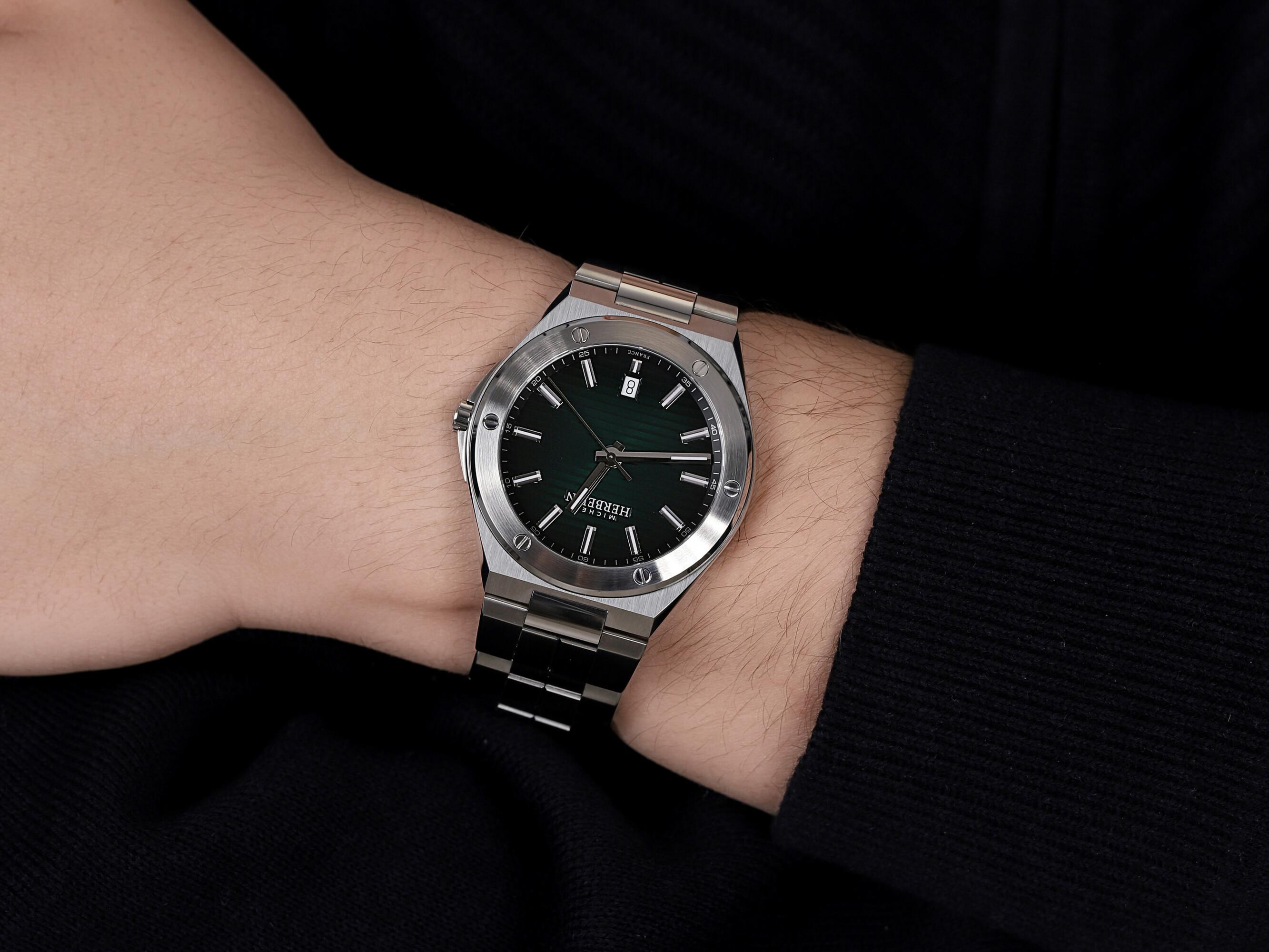 Michel Herbelin 12245/B16 zegarek srebrny klasyczny Cap Camarat bransoleta