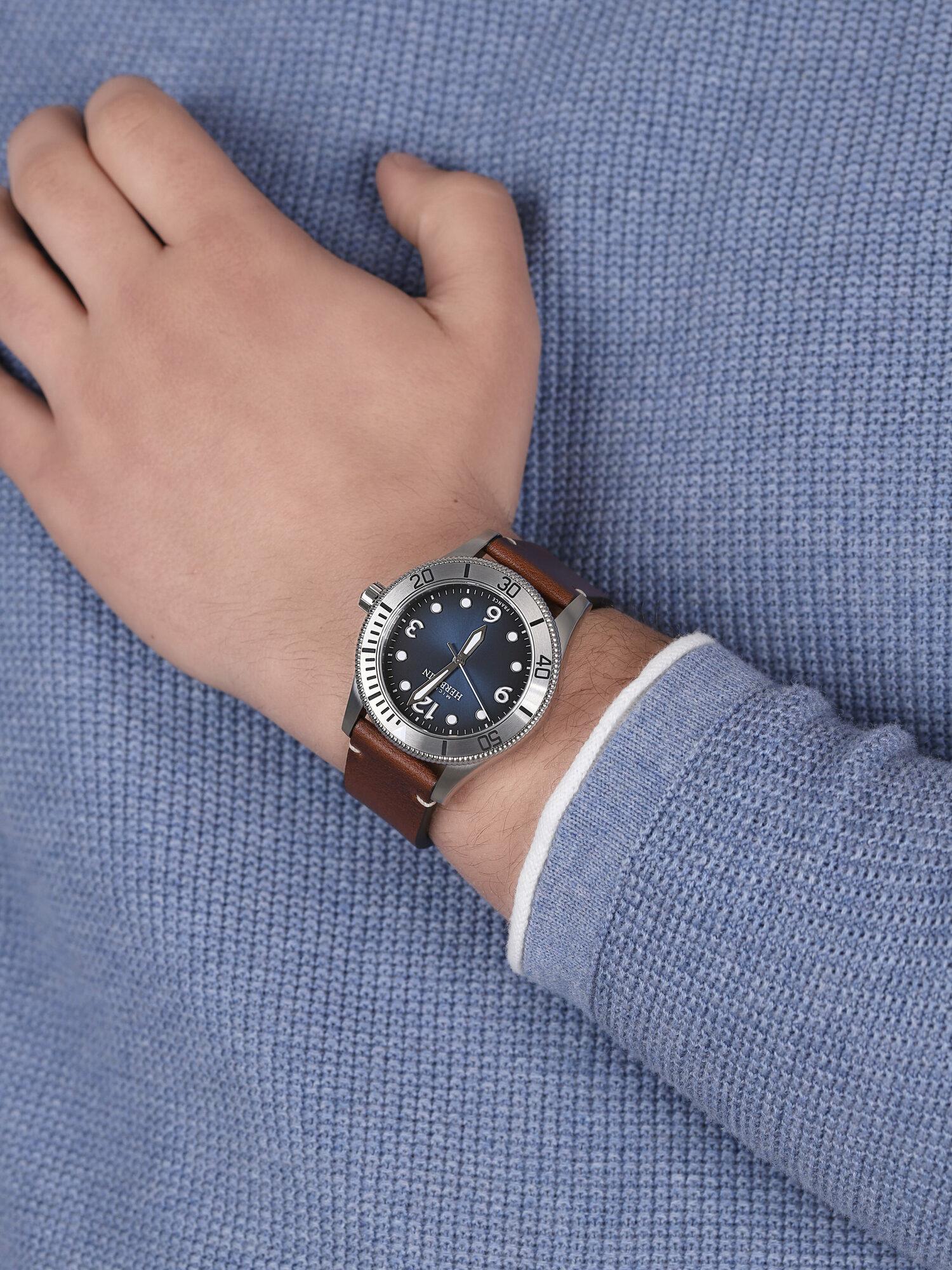 Michel Herbelin 12260/15MA męski zegarek Trophy pasek