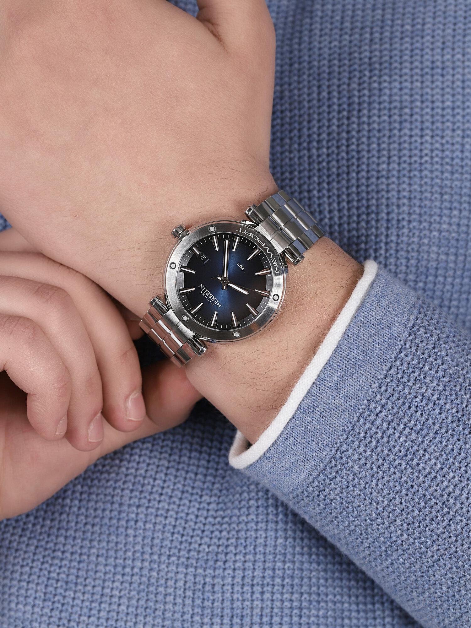 Michel Herbelin 12288/B15 NEWPORT zegarek klasyczny Newport