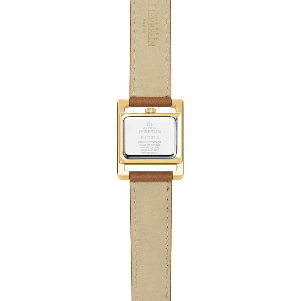 Michel Herbelin 17137/PR11GO damski zegarek V Avenue pasek