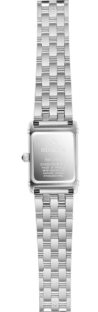 Michel Herbelin 17478/59B2 damski zegarek Art Deco bransoleta