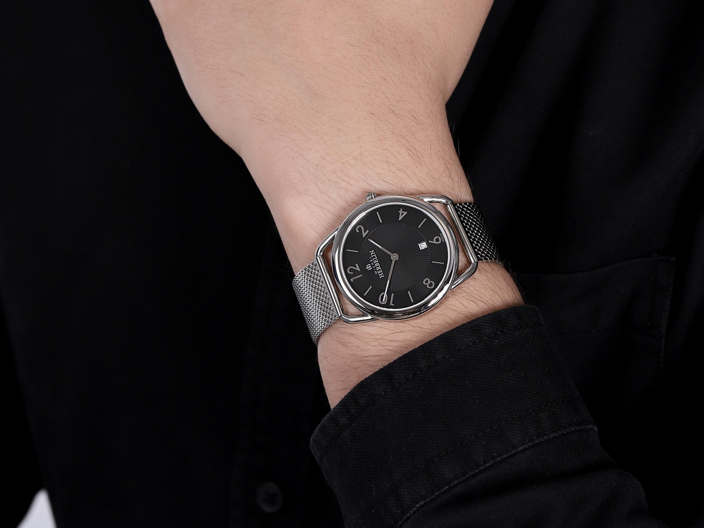 Michel Herbelin 19597/14B zegarek srebrny klasyczny Equinoxe bransoleta