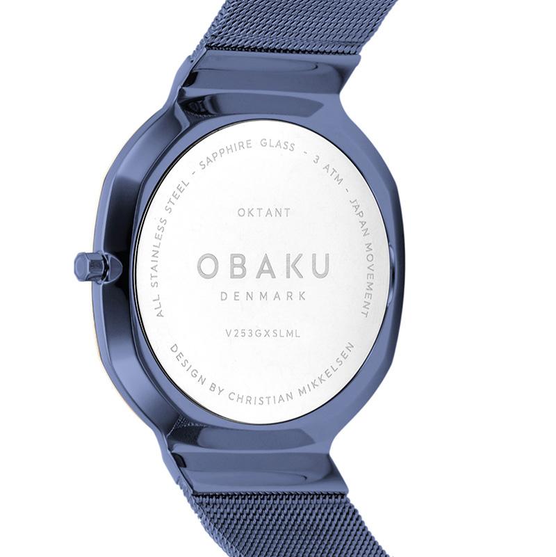 Obaku Denmark V253GXSLML zegarek