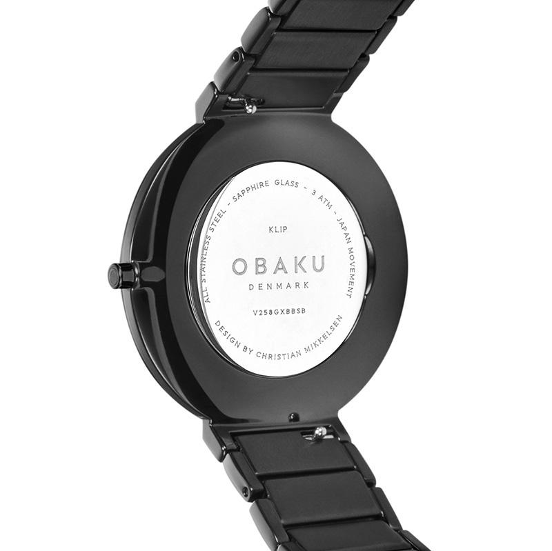 Obaku Denmark V258GXBBSB zegarek