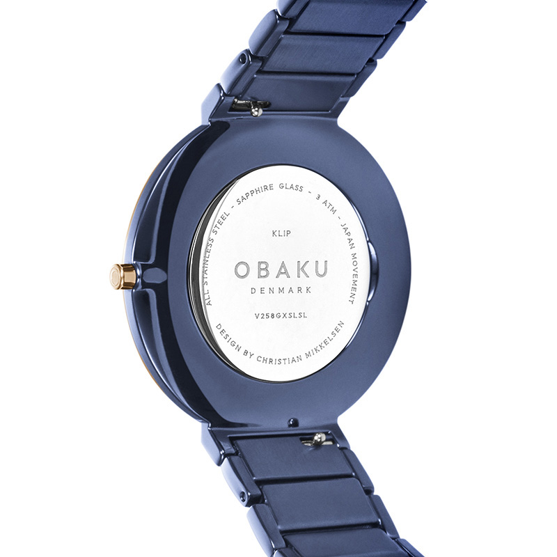 Obaku Denmark V258GXSLSL zegarek