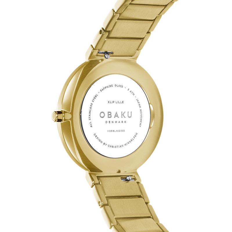 Obaku Denmark V258LXGISGKLIP zegarek