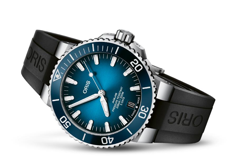 Oris 01 400 7763 4135-07 4 24 74EB zegarek męski Aquis