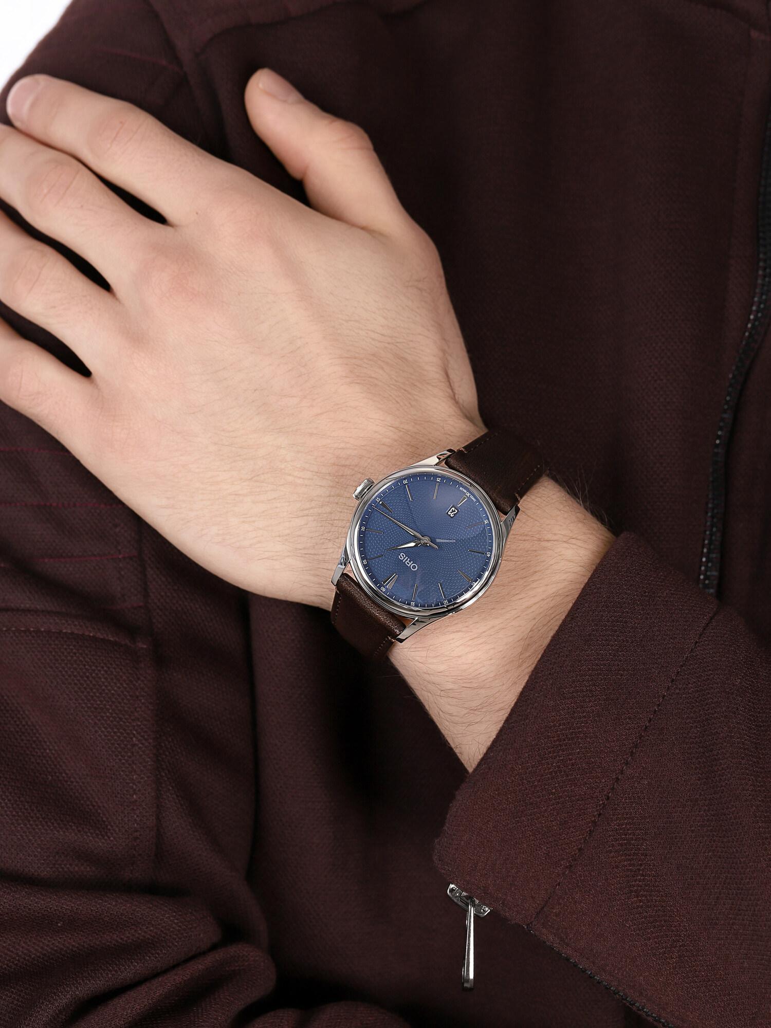 Oris 01 733 7721 4055-07 5 21 31FC ARTELIER DATE zegarek klasyczny Artelier