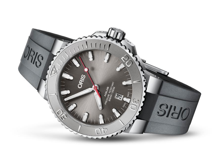 Oris 01 733 7730 4153-07 4 24 63EB zegarek męski Aquis