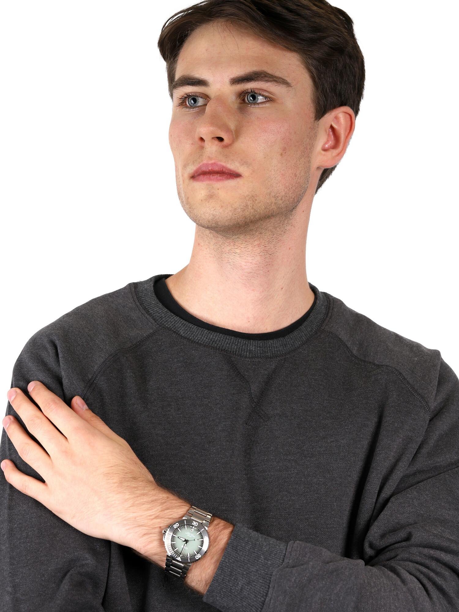 Oris 01 733 7732 4137-07 8 21 05PEB AQUIS DATE zegarek klasyczny Aquis