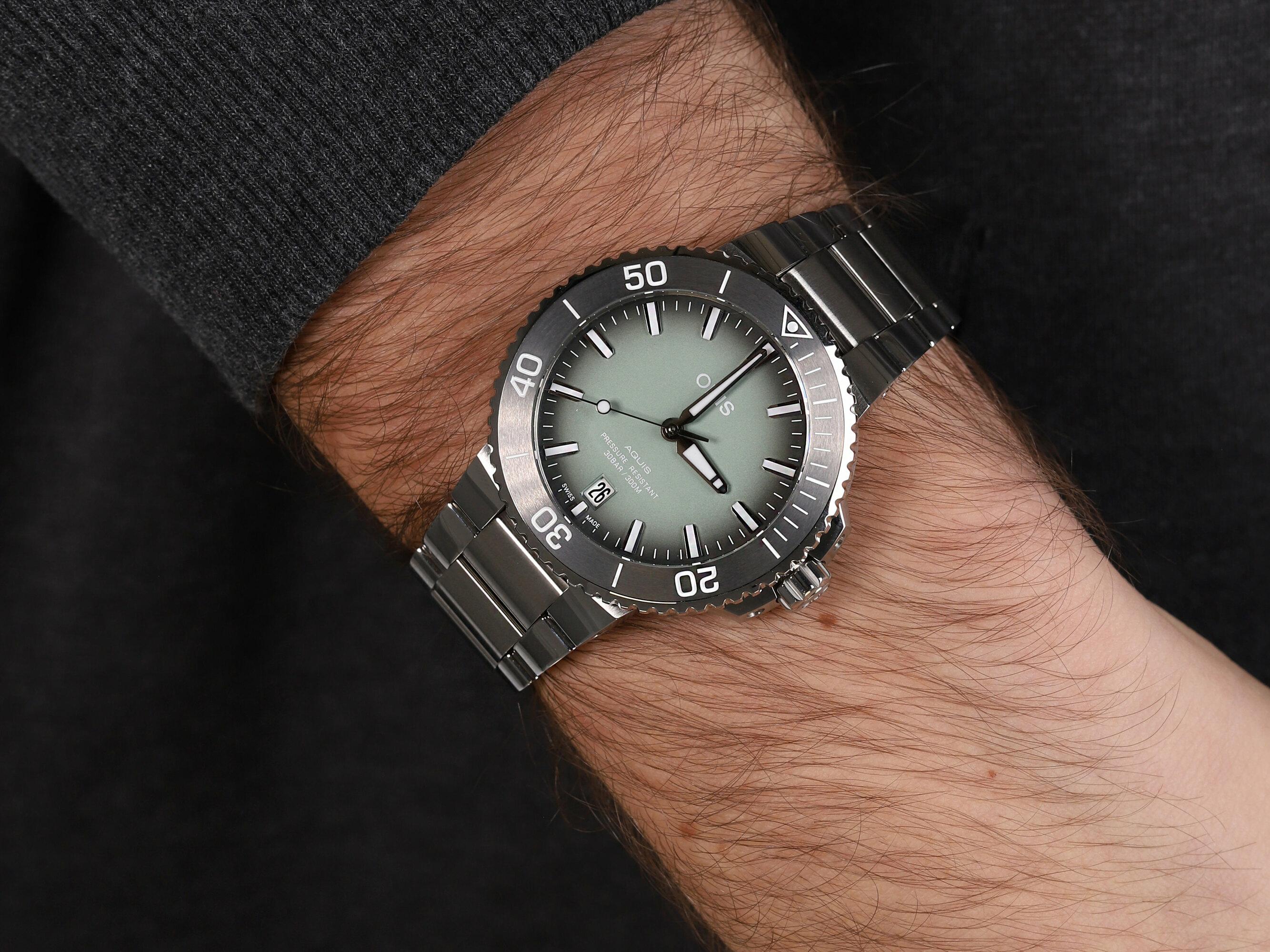 Oris 01 733 7732 4137-07 8 21 05PEB zegarek męski Aquis
