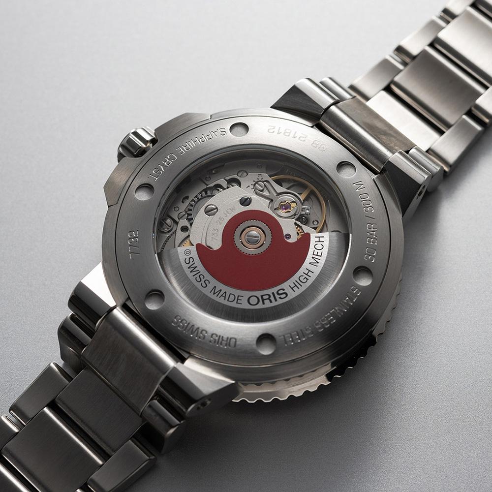 Oris 01 733 7732 4155-07 8 21 05PEB męski zegarek Aquis bransoleta