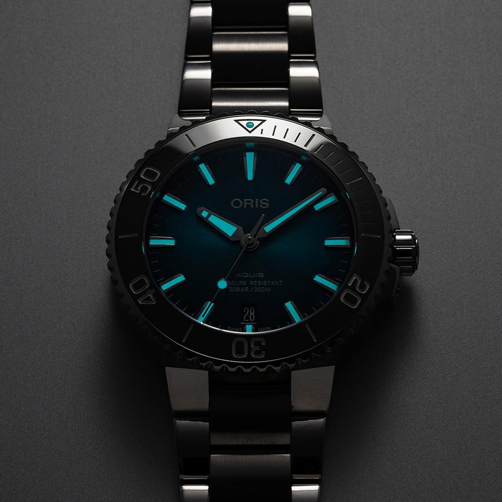 Oris 01 733 7732 4155-07 8 21 05PEB zegarek męski Aquis