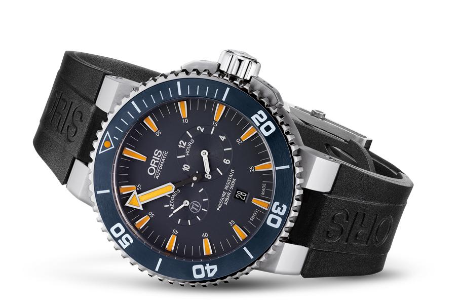 Oris 01 749 7663 7185-SET zegarek męski Aquis