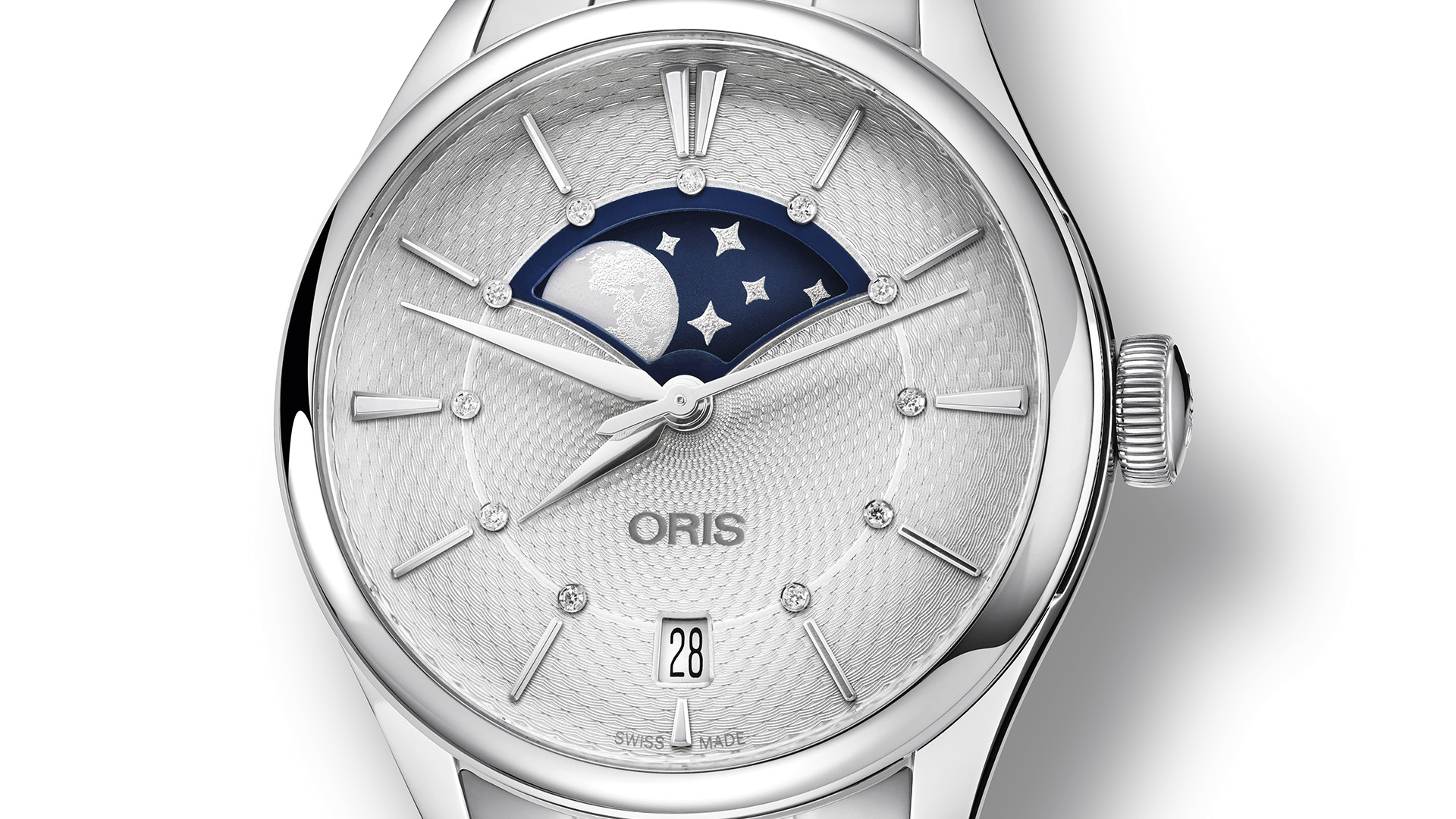Oris 01 763 7723 4051-07 5 18 66FC damski zegarek Artelier pasek
