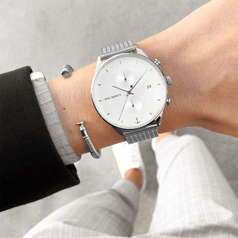 Paul Hewitt PH-C-S-W-50M zegarek klasyczny Chrono Line