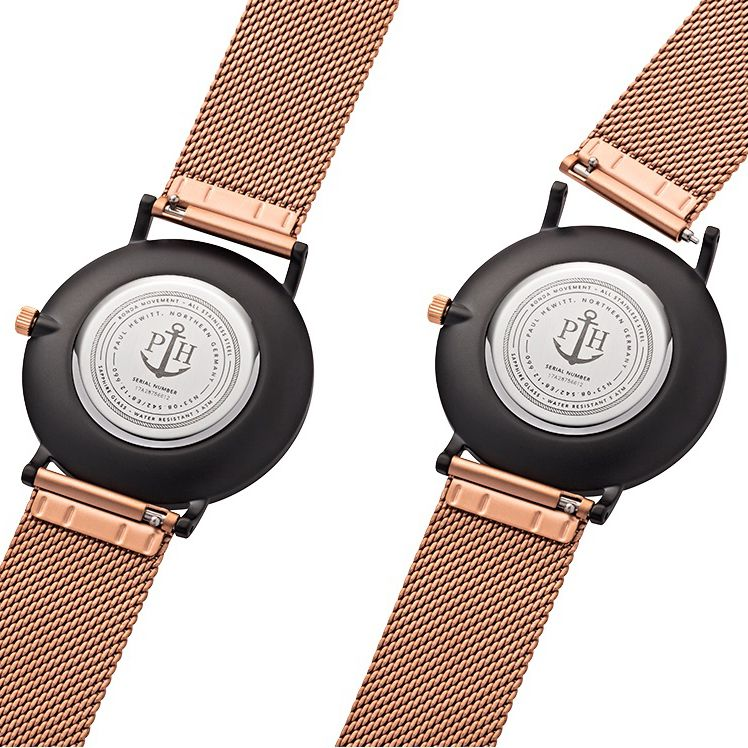 Paul Hewitt PH-SA-B-BSR-R5S męski zegarek Sailor Line bransoleta