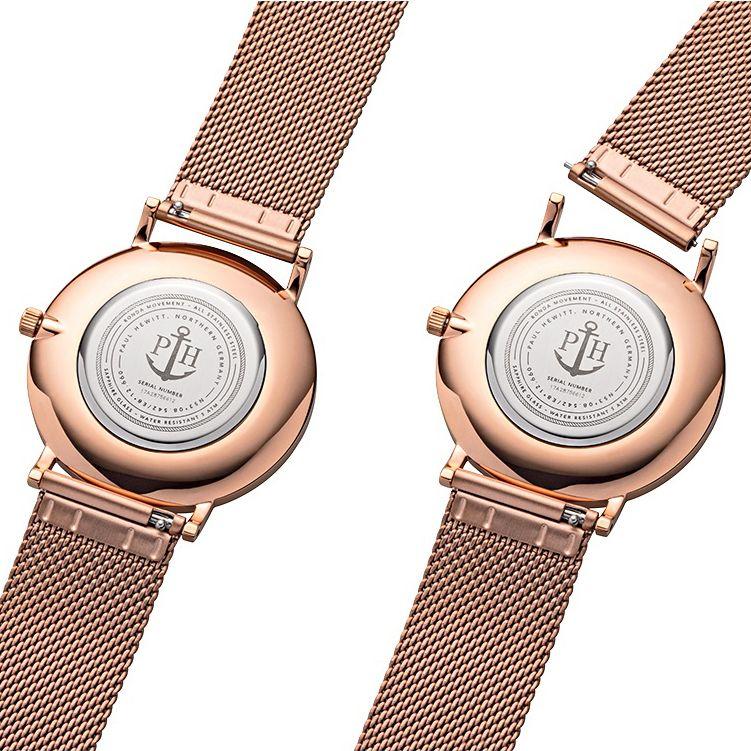Paul Hewitt PH-SA-R-ST-B-4M męski zegarek Sailor Line bransoleta