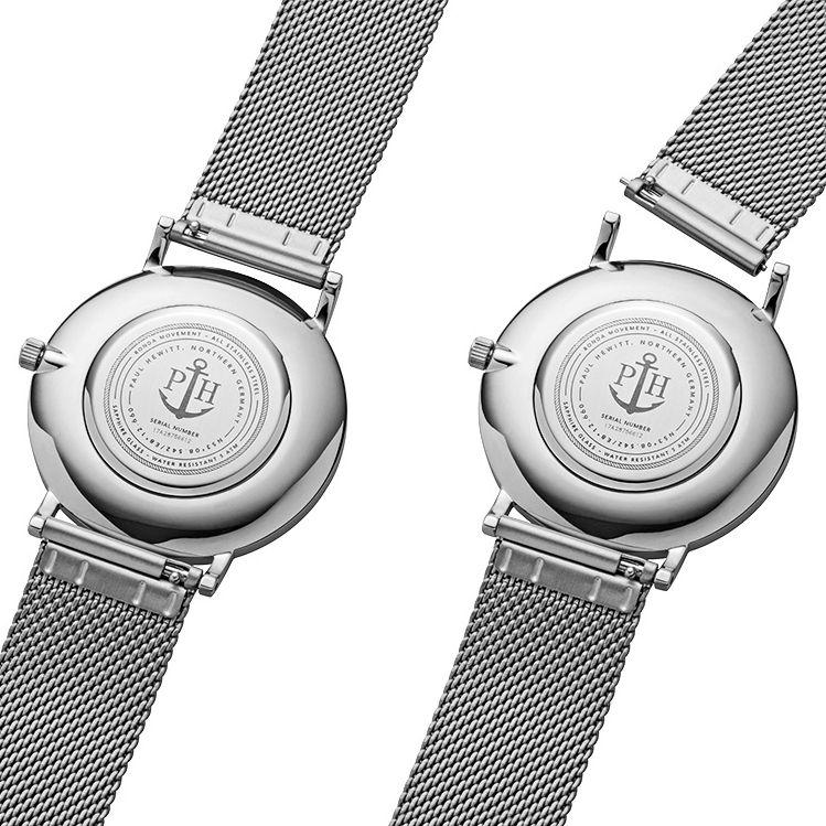 Paul Hewitt PH-SA-S-ST-B-4M męski zegarek Sailor Line bransoleta