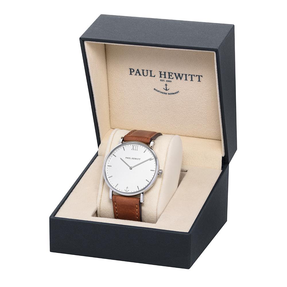 Paul Hewitt PH-SA-S-ST-W-1M męski zegarek Sailor Line bransoleta