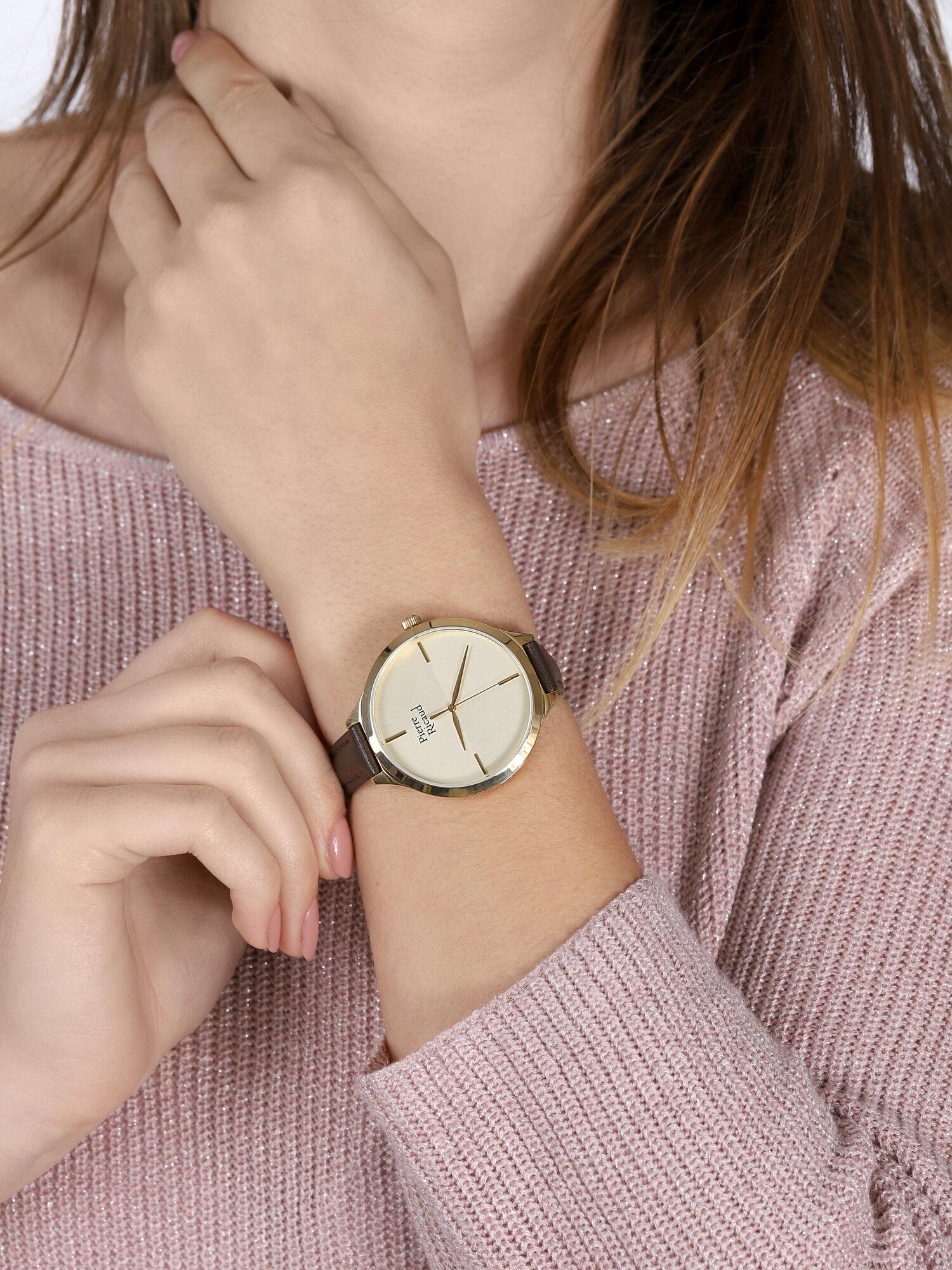 Pierre Ricaud P22005.1B11LQ-SET damski zegarek Pasek pasek