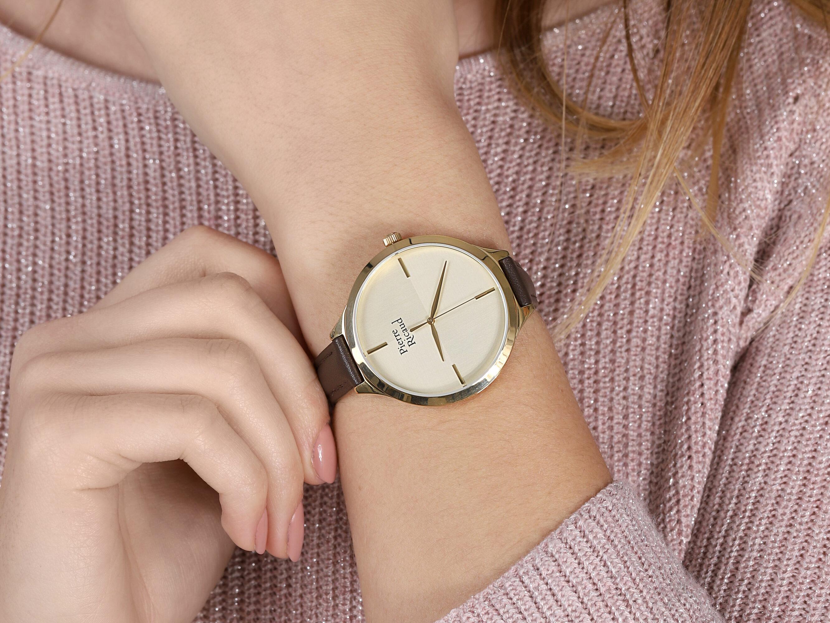 Pierre Ricaud P22005.1B11LQ-SET zegarek damski Pasek