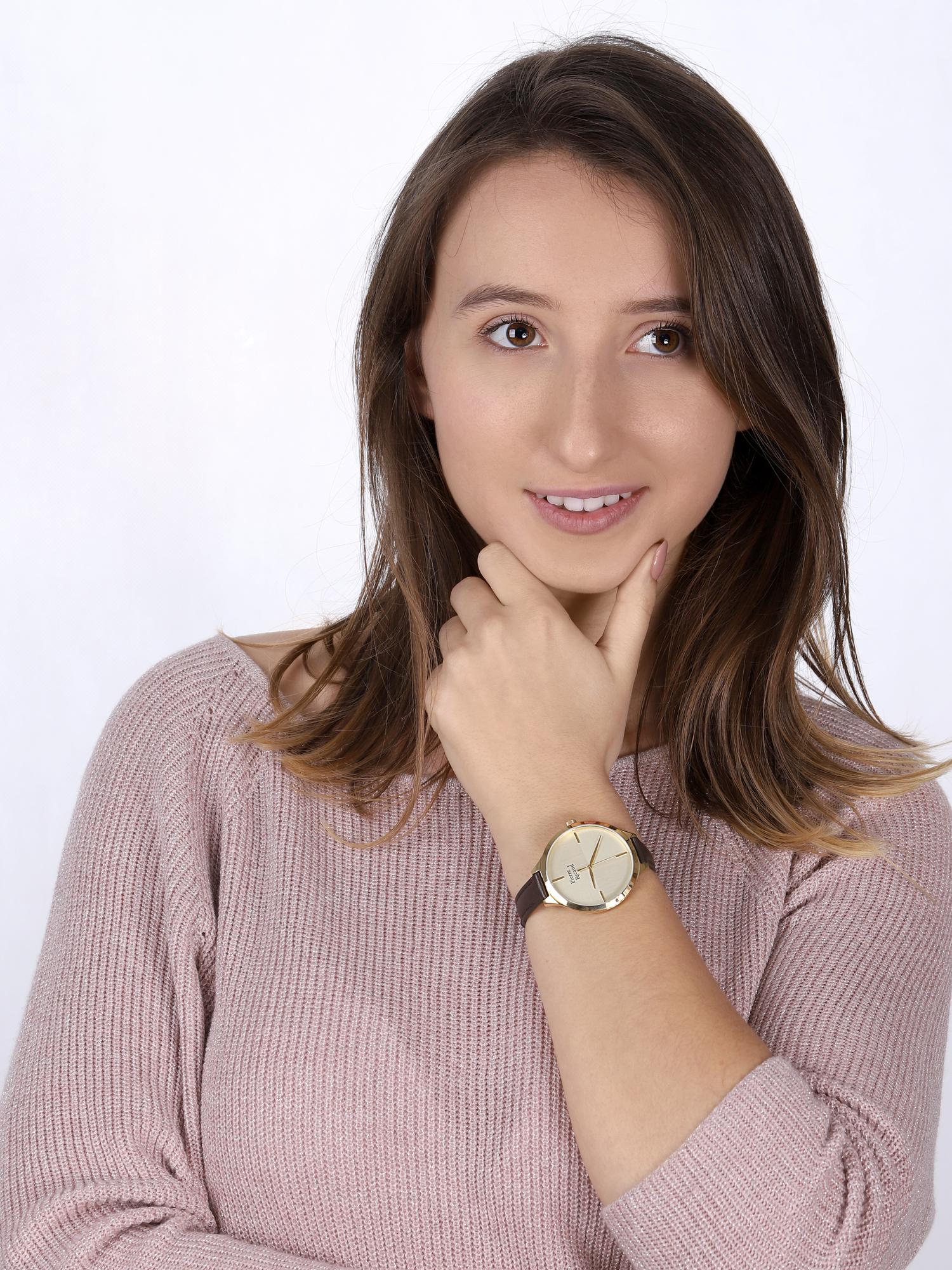 Pierre Ricaud P22005.1B11LQ-SET zegarek klasyczny Pasek