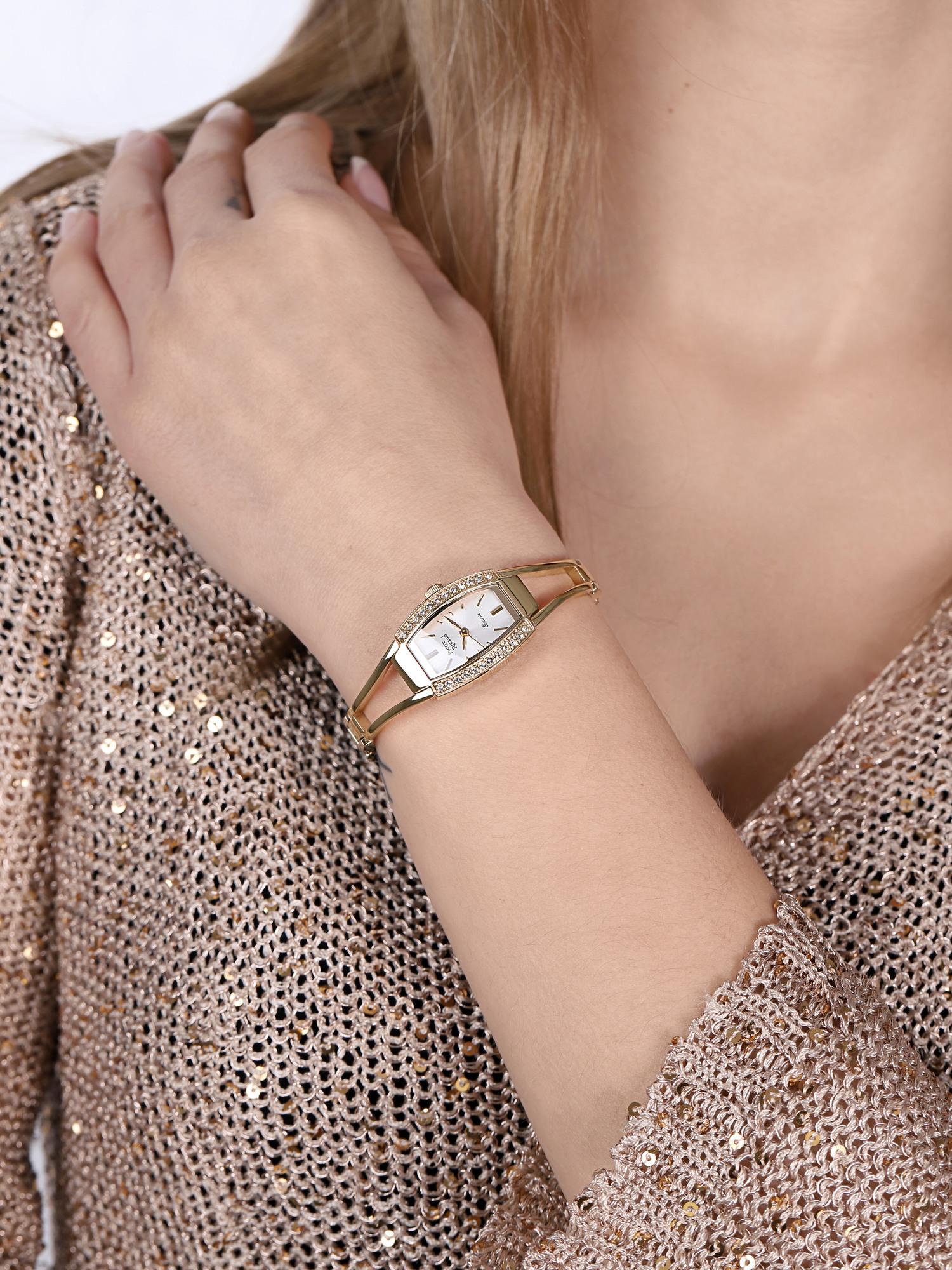 Pierre Ricaud P4184.1113QZ damski zegarek Bransoleta bransoleta