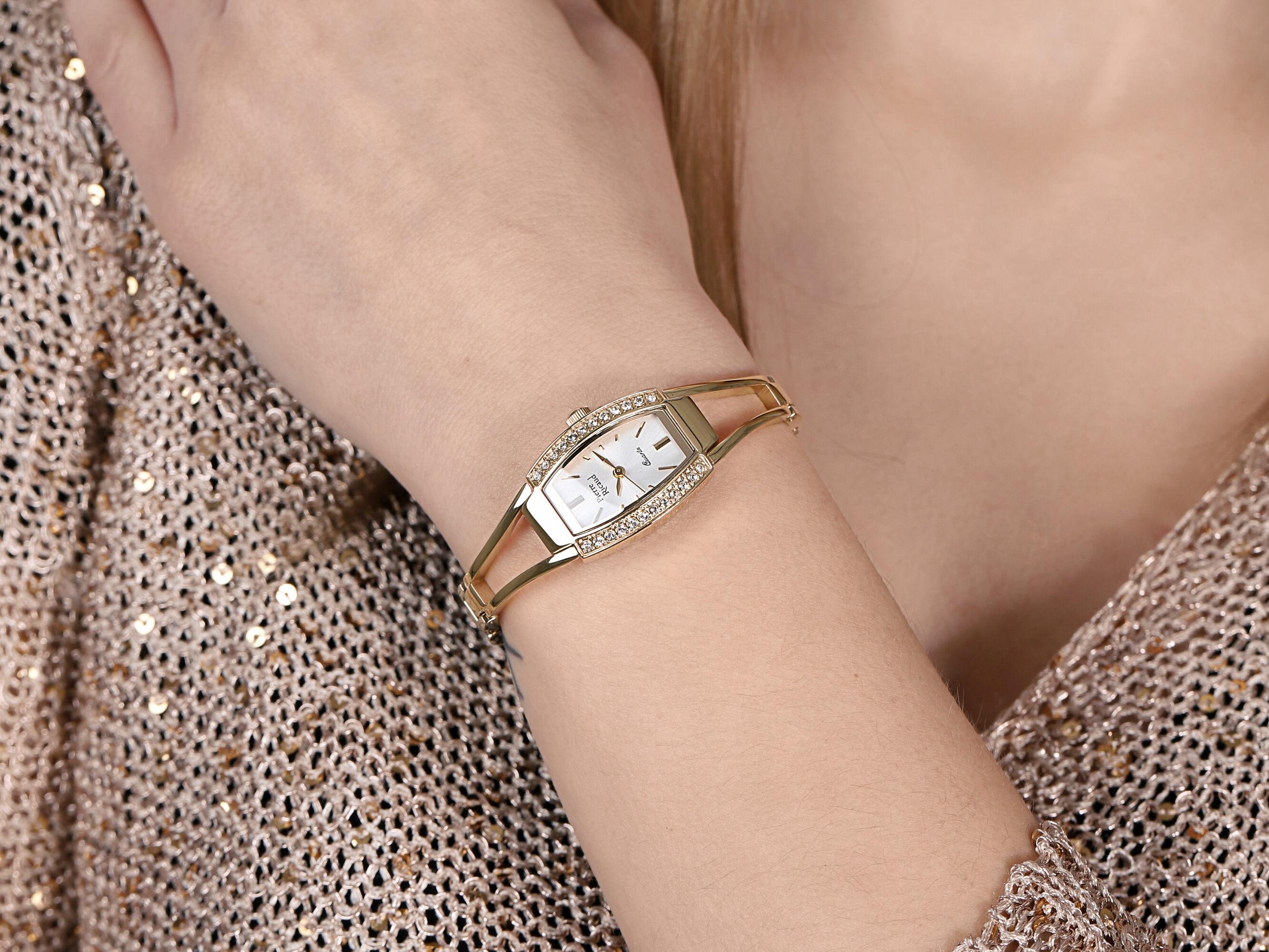 Pierre Ricaud P4184.1113QZ zegarek damski Bransoleta