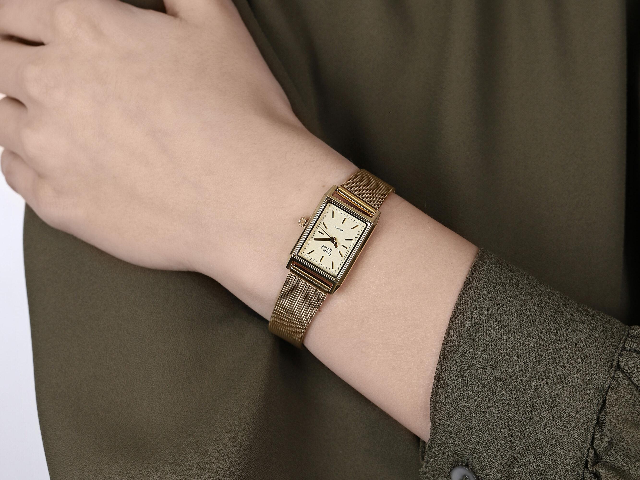 Pierre Ricaud P51061.1111Q damski zegarek Bransoleta bransoleta