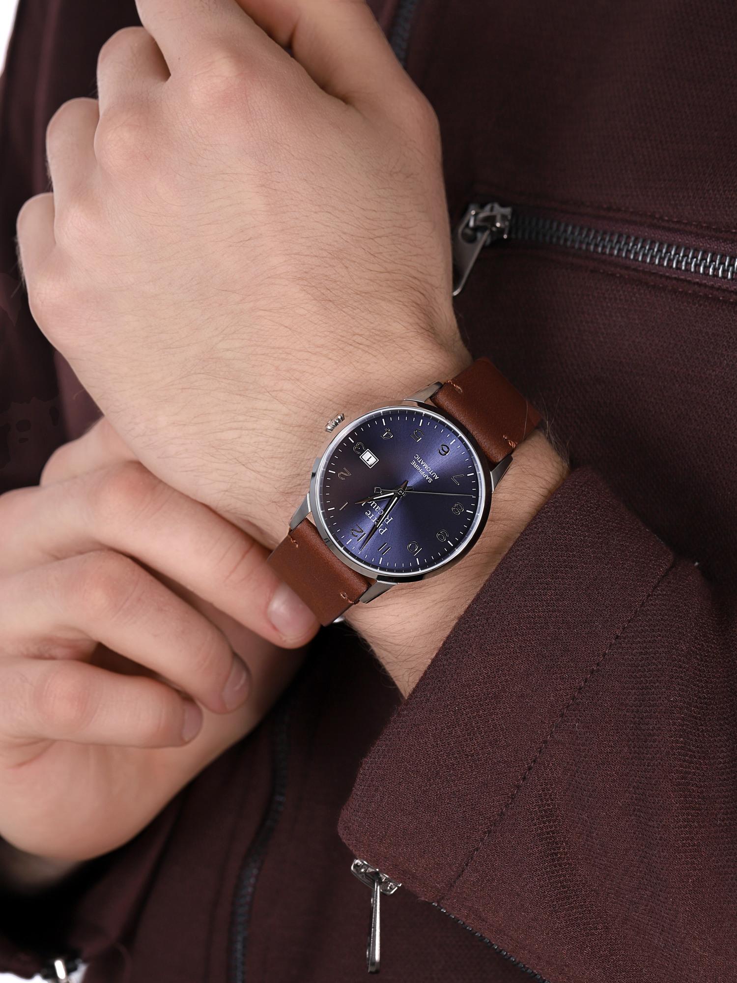 Pierre Ricaud P60029.5B25A męski zegarek Automatic pasek