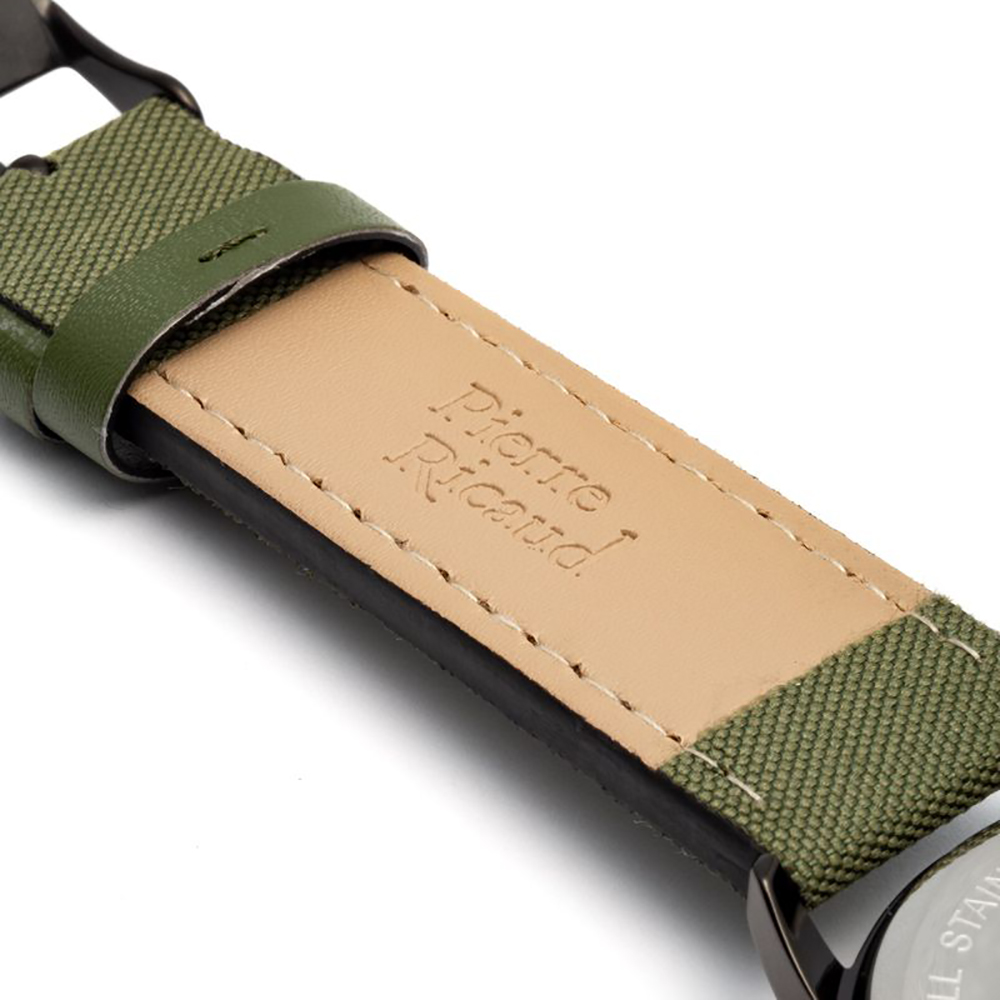 Pierre Ricaud P97234.S82ORRQ męski zegarek Bransoleta pasek