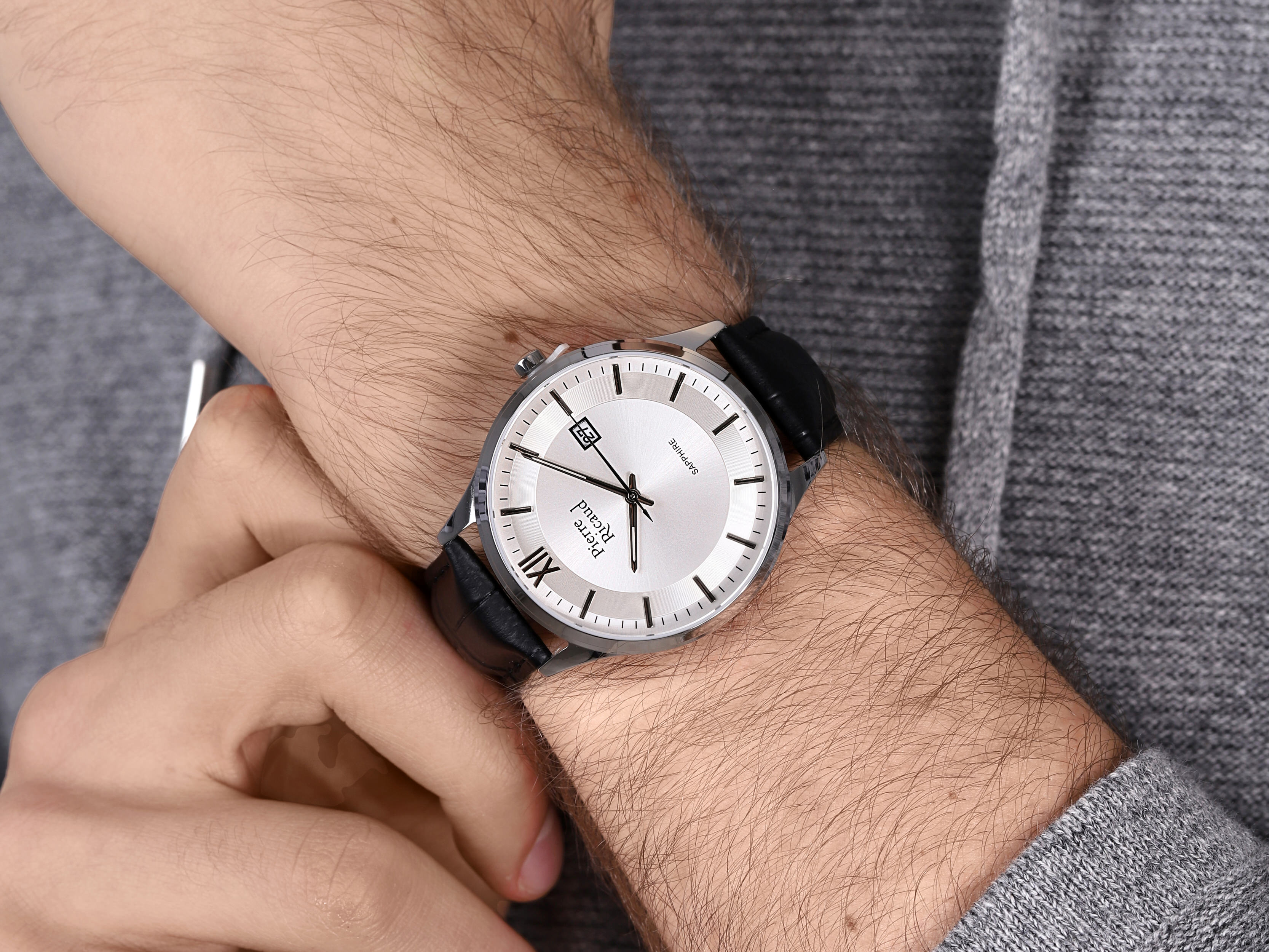 Pierre Ricaud P97262.5263Q zegarek klasyczny Pasek