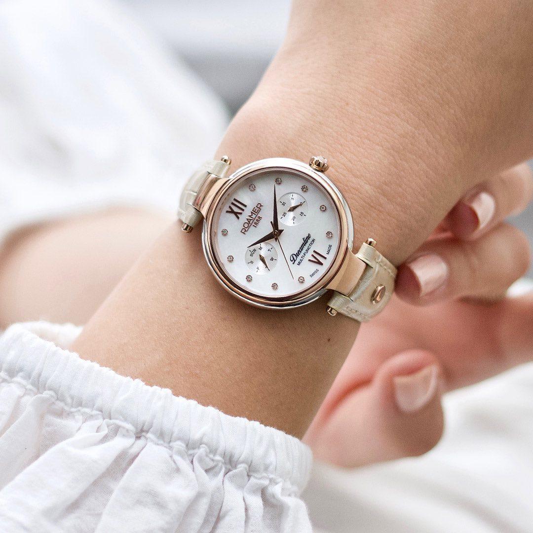 Roamer 600821.47.29.05 zegarek elegancki Dreamline