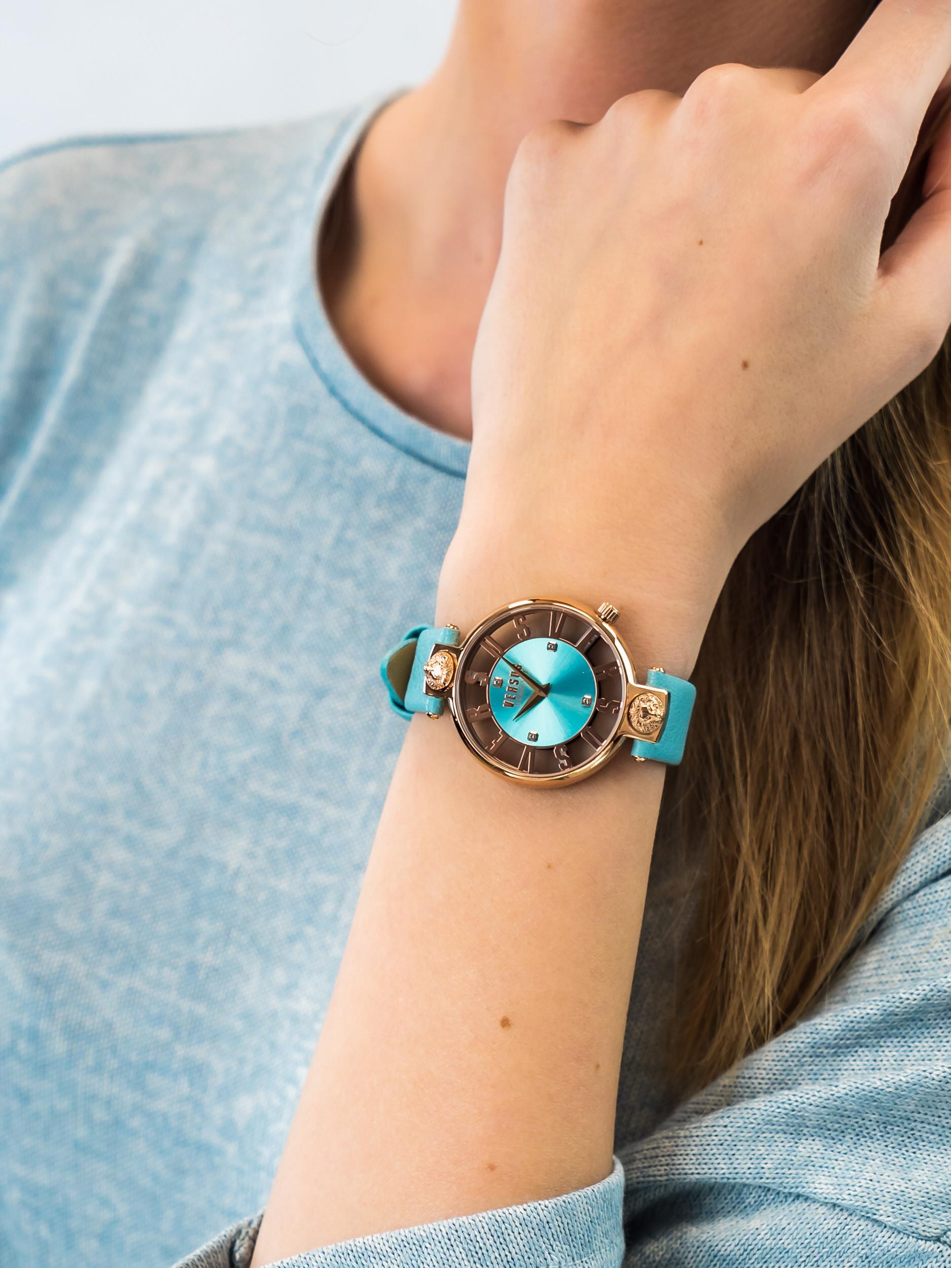 Versus Versace VSP490418 damski zegarek Damskie pasek