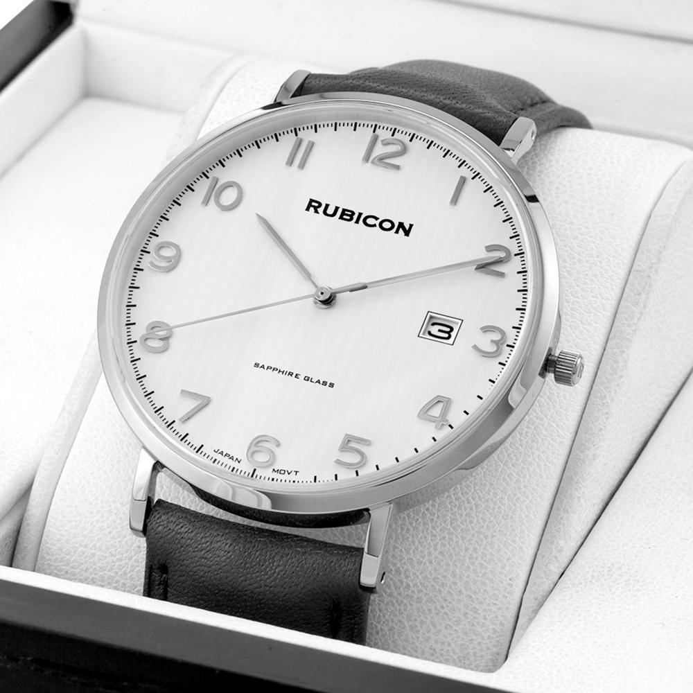 Rubicon RBN051 męski zegarek Pasek pasek