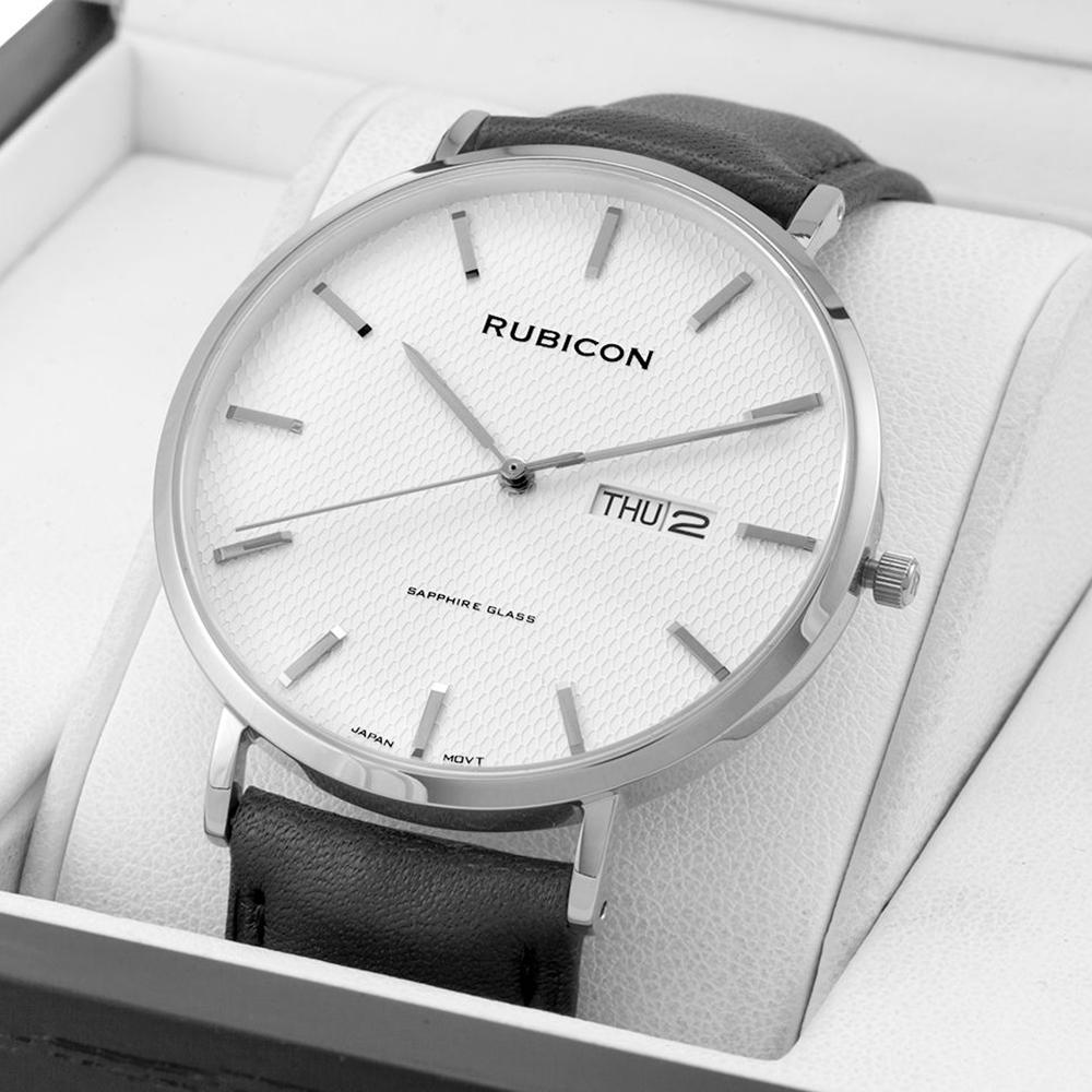 Rubicon RBN055 męski zegarek Pasek pasek