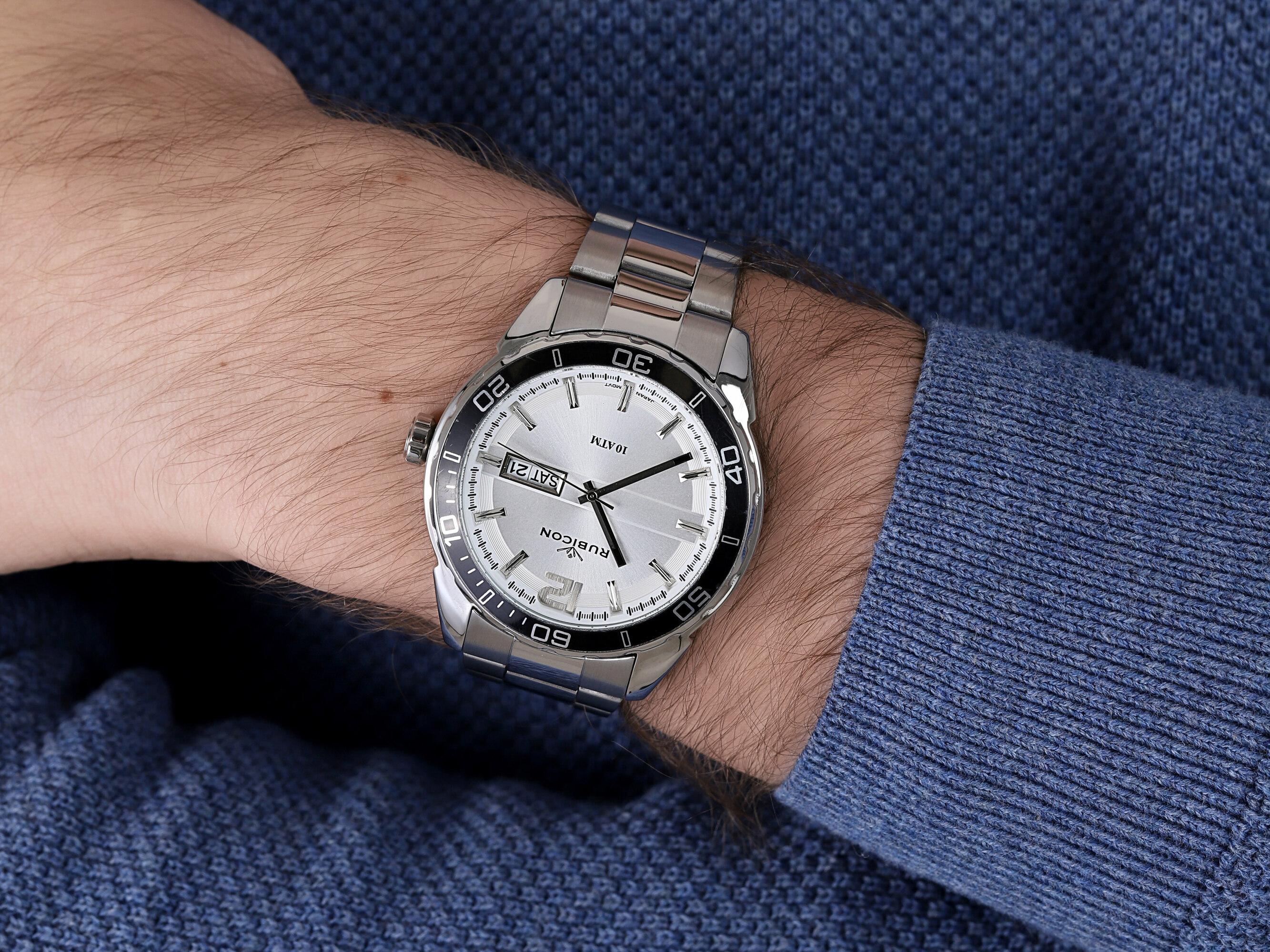 Rubicon RNDD81SMSX10BX zegarek klasyczny Bransoleta