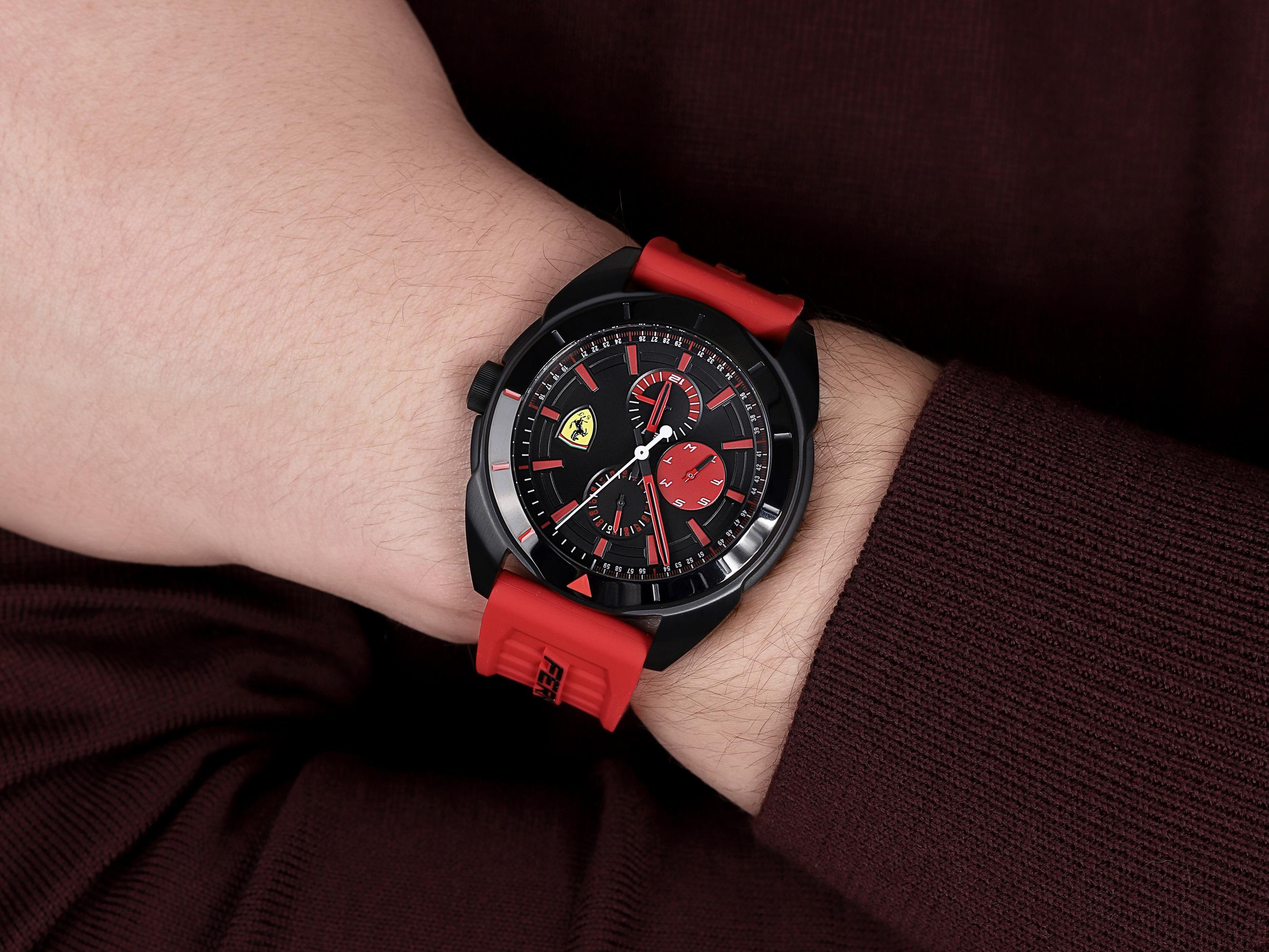 Scuderia Ferrari SF 0830576 FORZA męski zegarek Forza pasek