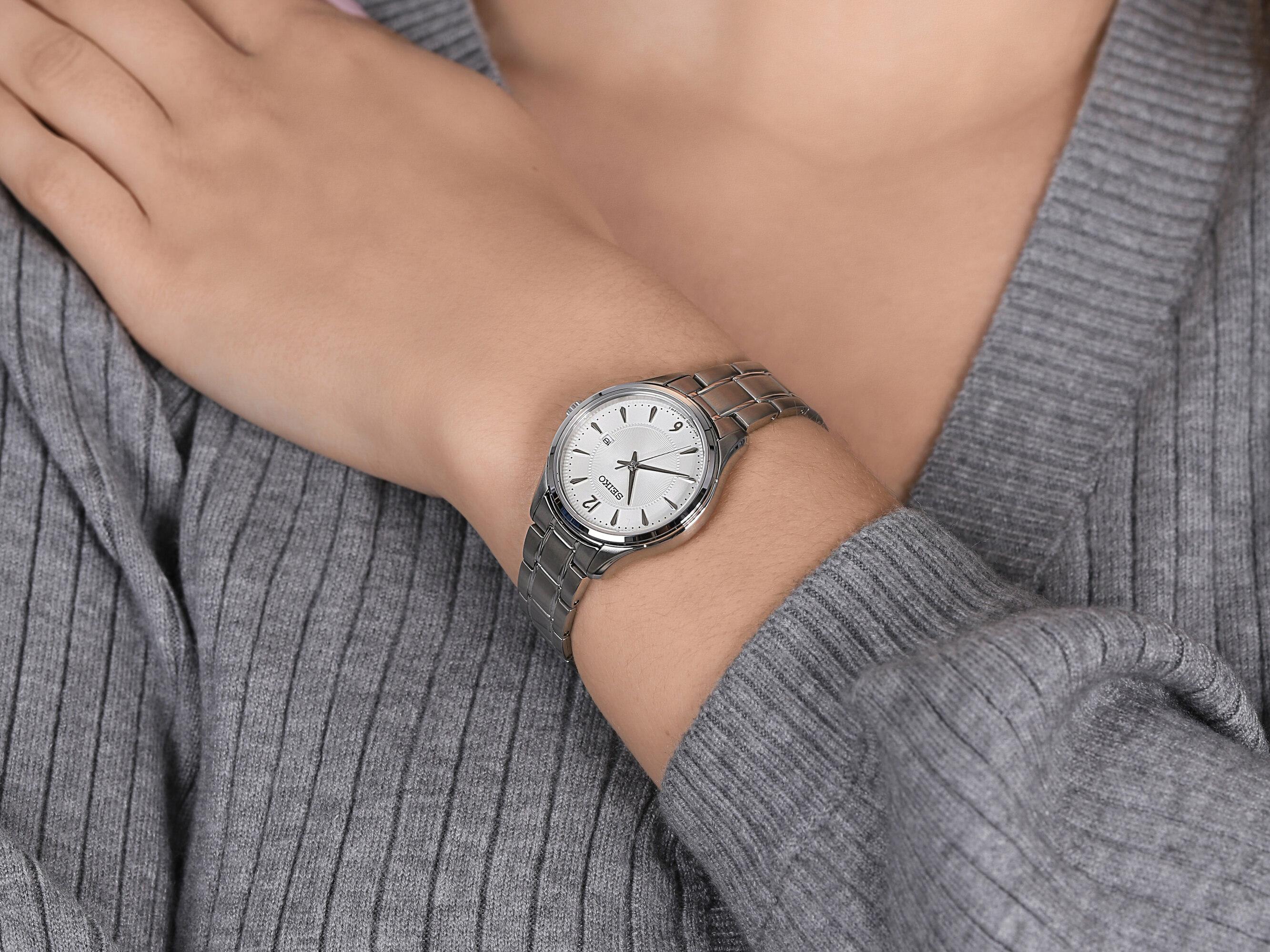 Seiko SUR423P1 zegarek damski Classic