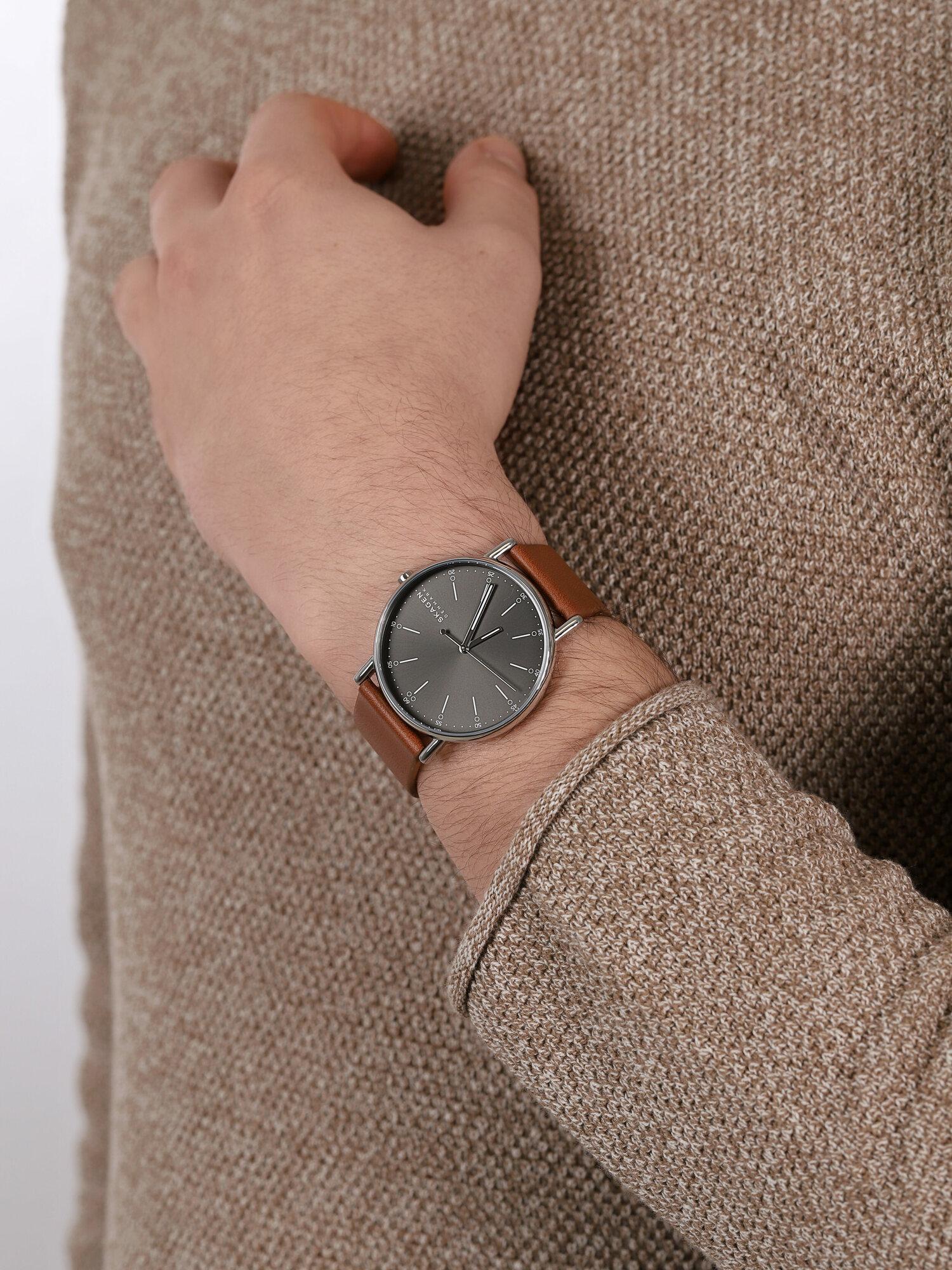 Skagen SKW6578 męski zegarek Signatur pasek