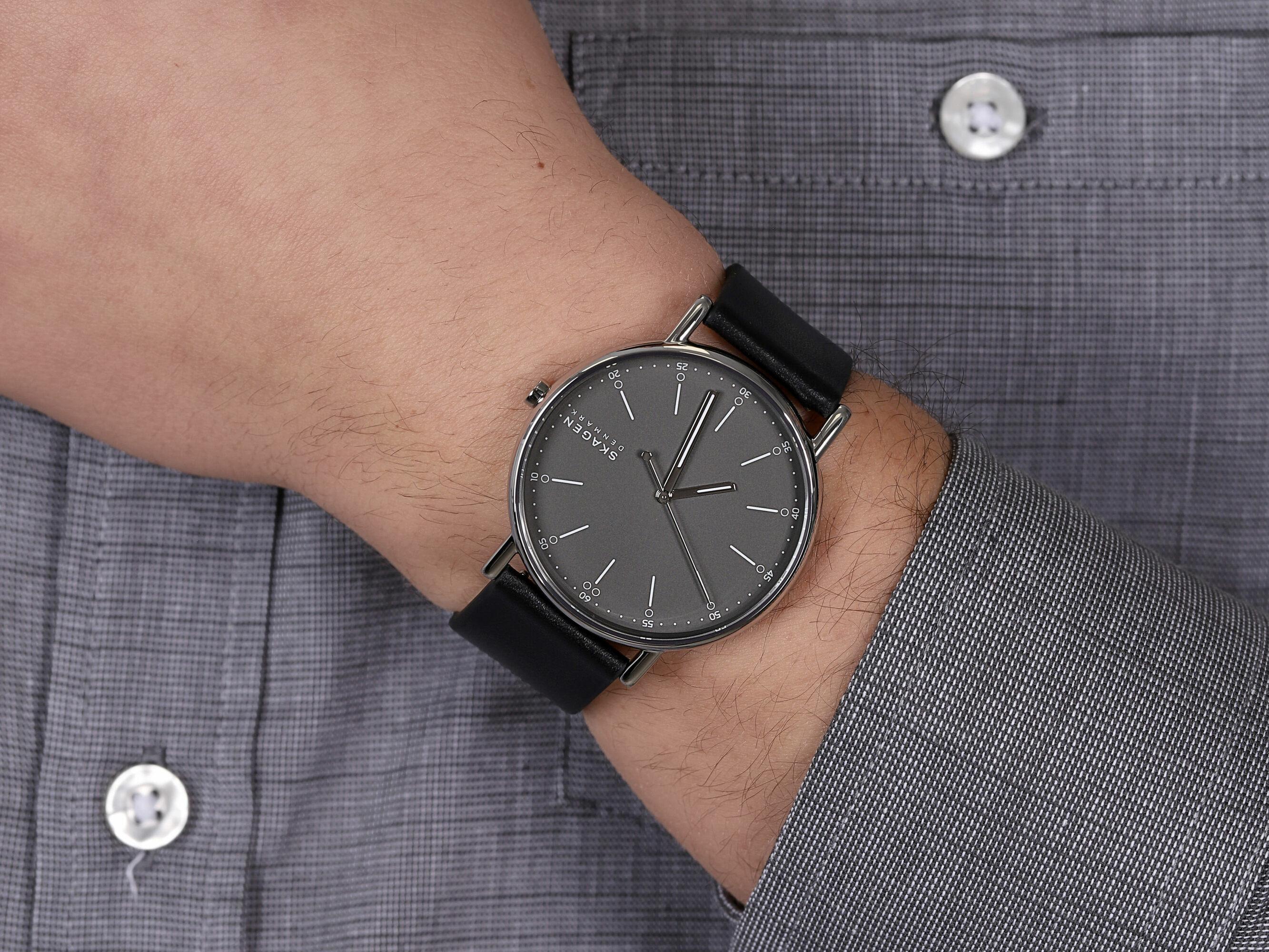 Skagen SKW6654 męski zegarek Signatur pasek