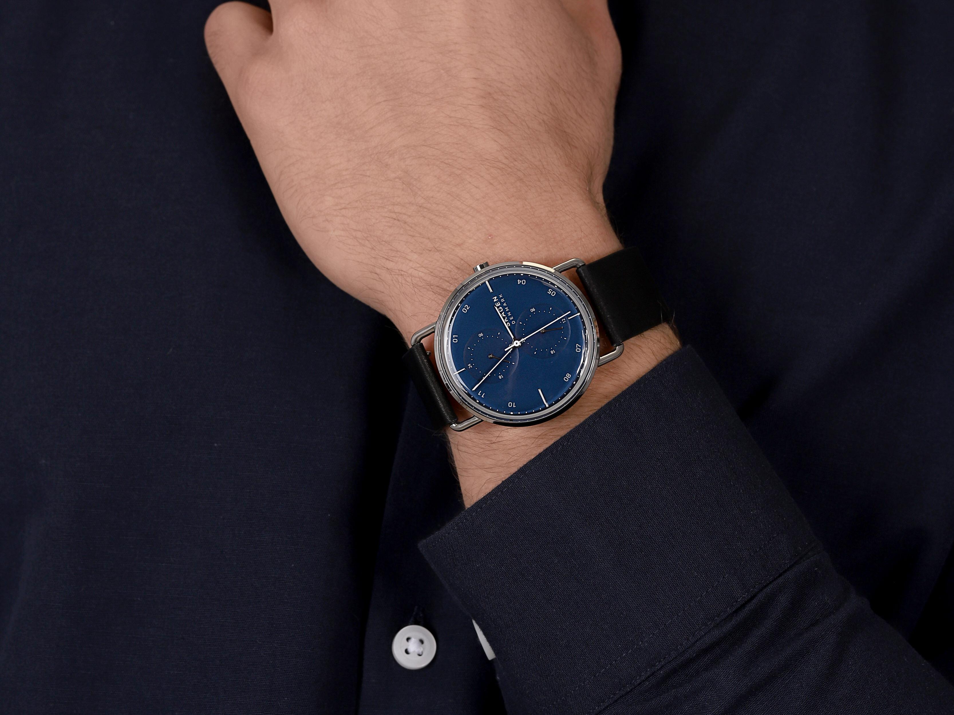 Skagen SKW6702 męski zegarek Horisont pasek