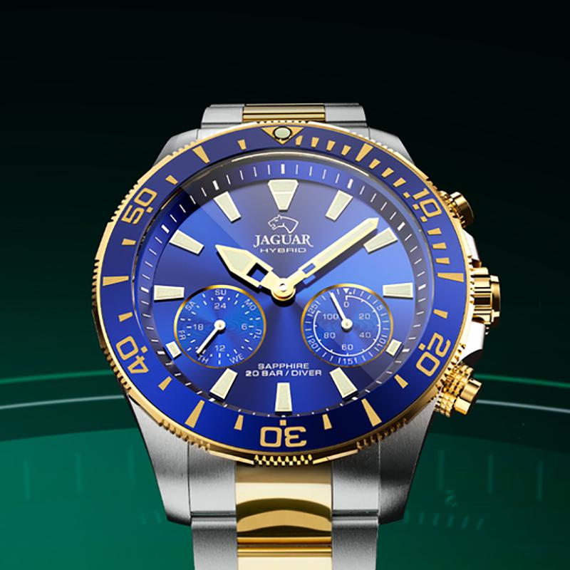 smartwatch J889-1 męski z chronograf Hybrid