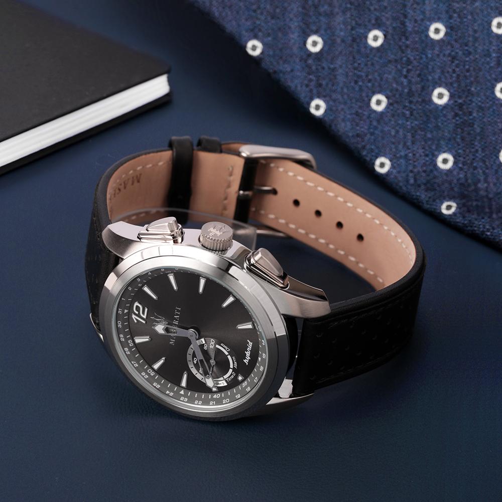 smartwatch Maserati R8851112001 kwarcowy męski Traguardo