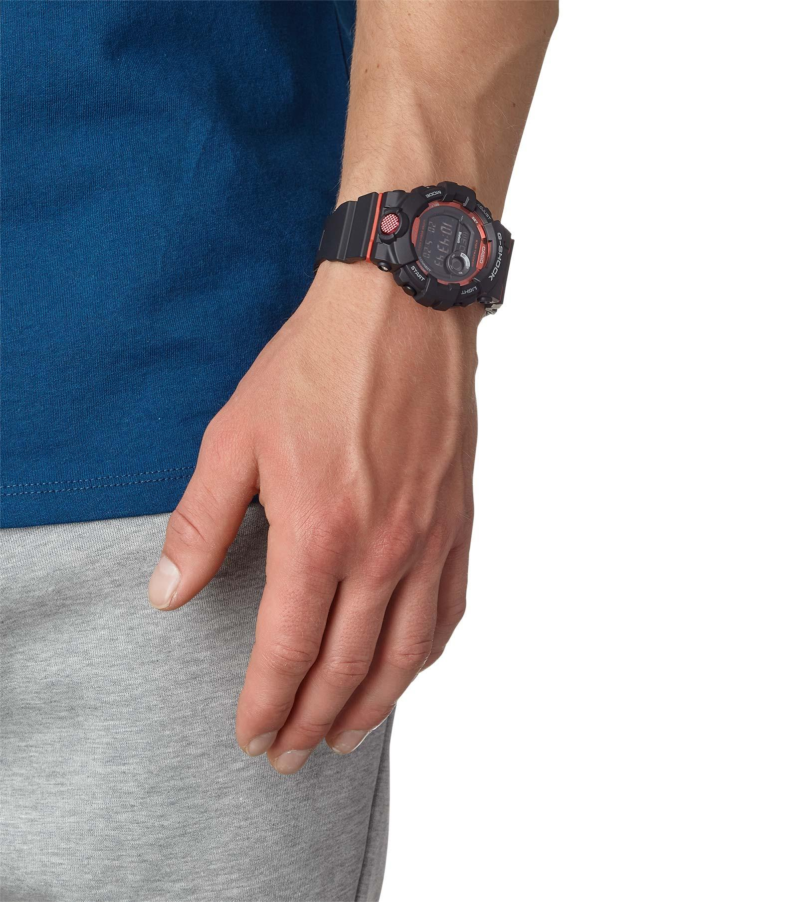 G-Shock GBD-800-1ER G-SQUAD G-SHOCK Original sportowy zegarek czarny
