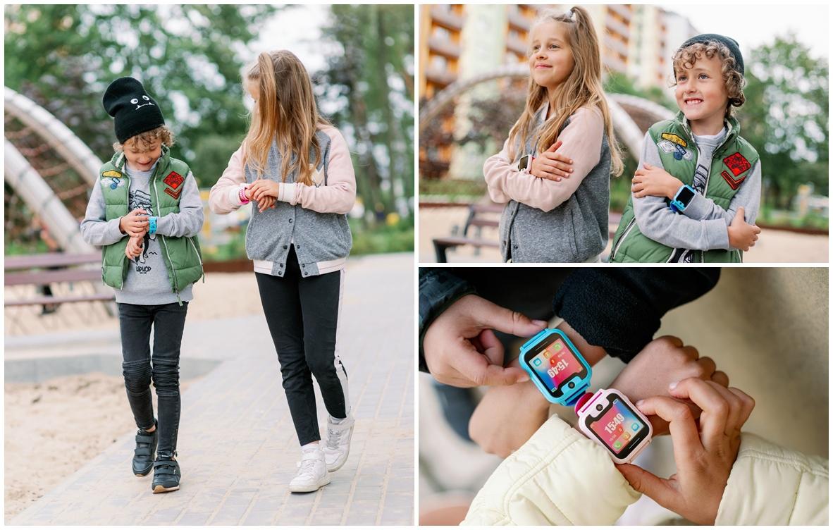 Garett 5903246281972 Smartwatch Garett Kids Nice niebieski Dla dzieci sportowy zegarek niebieski