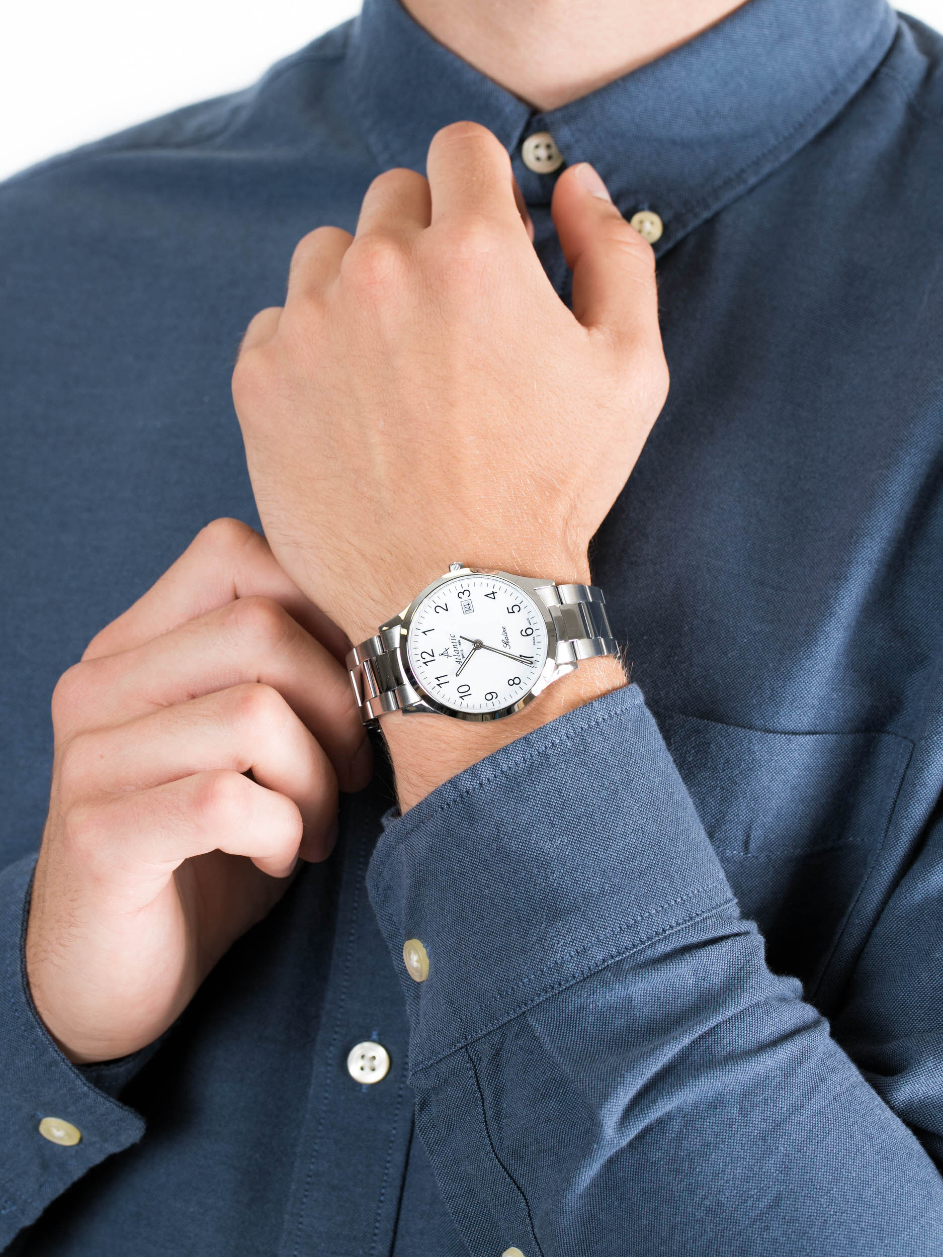 Atlantic 62346.41.13 męski zegarek Sealine bransoleta
