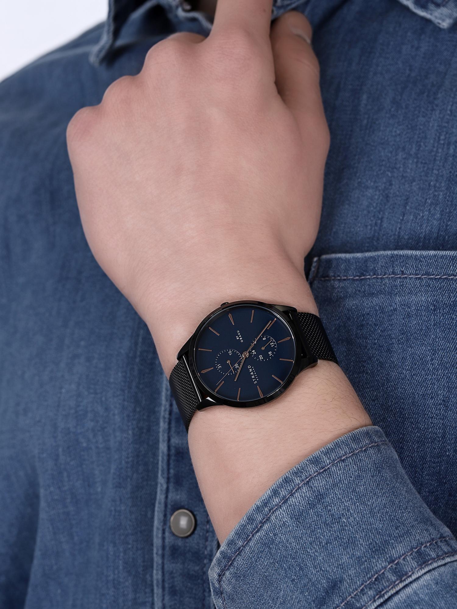 Strand S703GMBLMB męski zegarek Beaufort bransoleta